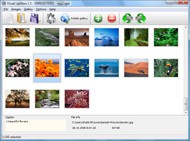 zend framework get photos album flickr Blogger Flickr Slideshow