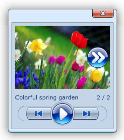 flickr rss feed for galleries Html5 Slideshow Flickr