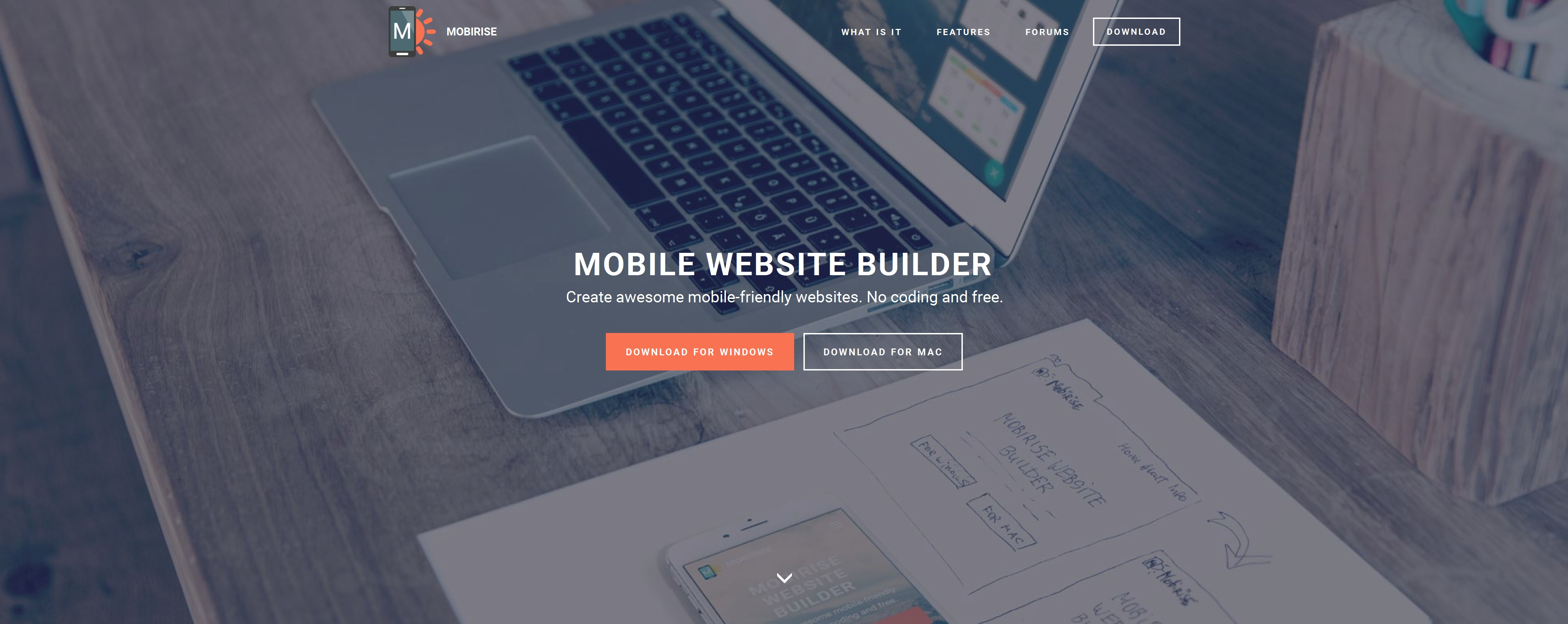 Responsive Mobile Website Generator