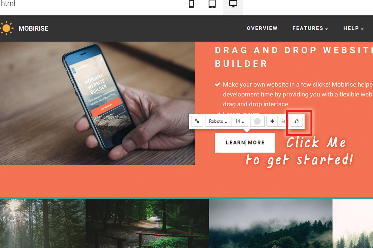Free Drag and Drop Web Development Software Free Download