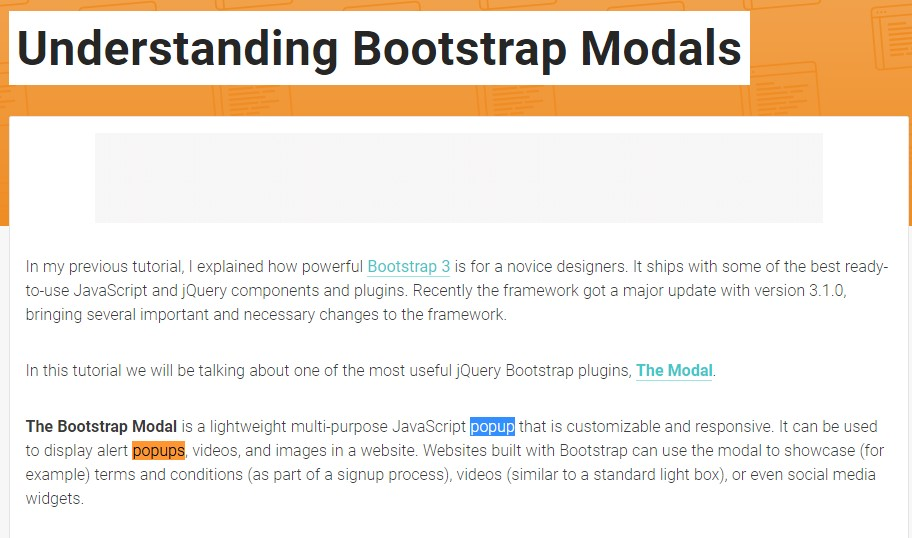 Another  helpful  post  relating to Bootstrap Modal Popup