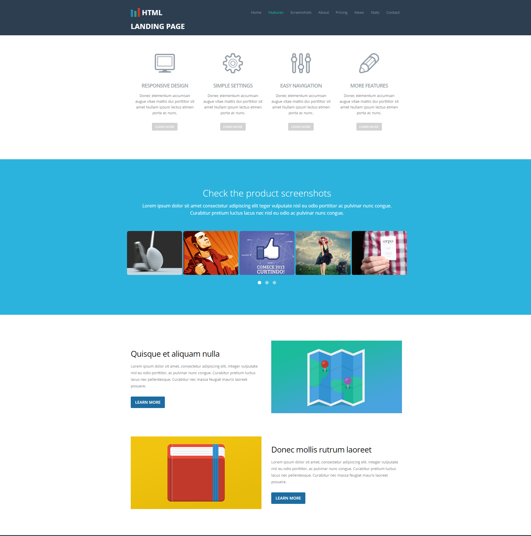Free Download Bootstrap Ezyland Themes
